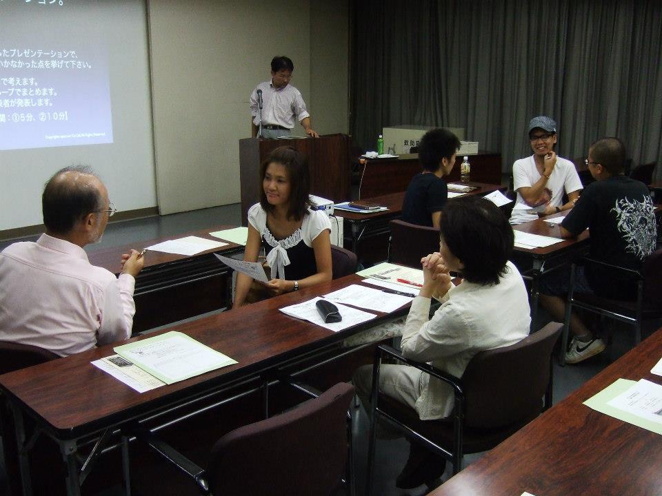 岐阜商工会議所主催の起業家支援セミナー2